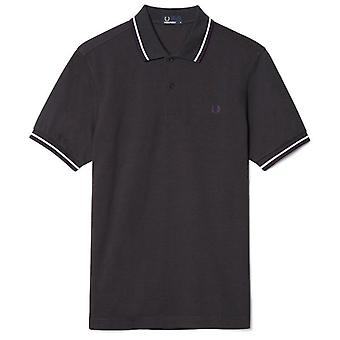 Fred Perry Men's Twin Tipped Short Sleeved Polo Shirt M1200-566