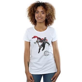Marvel Women's Avengers Endgame geschilderd Thor T-shirt