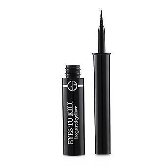 Giorgio Armani Eyes To Kill Lacquered Eyeliner - # 1 Onyx - 1.4ml/0.04oz