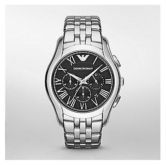 Emporio Armani Ar1786 Mens New Valente Silver Steel Watch