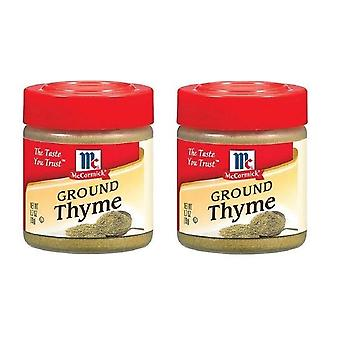 McCormick Ground Thyme 2 Bottle Pack