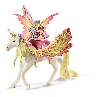 Schleich Bayala fée Feya avec Pegasus Licorne Toy figure (70568)