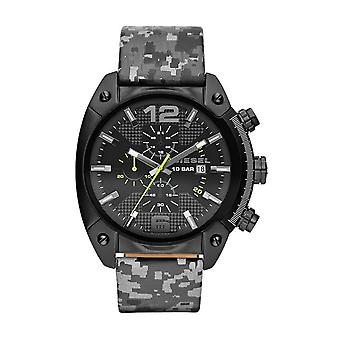 Diesel Camo Overflow Chronograph Watch DZ4324