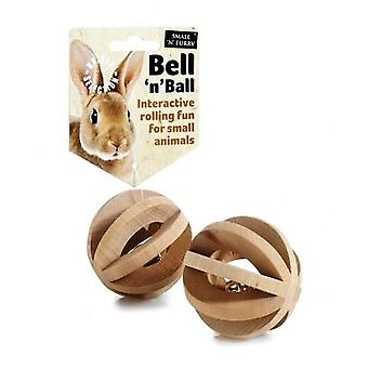Bell 'n' Ball Small Animal Chew
