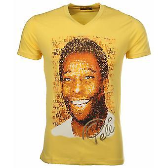 T-shirt Pele-Yellow