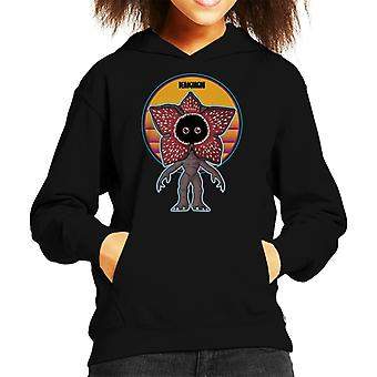 Stranger Things Cute Demogorgon Kid's Hooded Sweatshirt