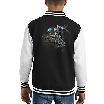 Alchemy Road To Hell Kid's Varsity Jacket