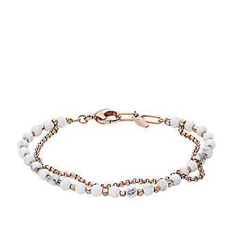Fossil Women's bracelet in stainless steel with Amethyst - Rose Gold