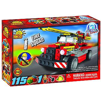 Action Town 115 Piece Fire Squad Construction Set