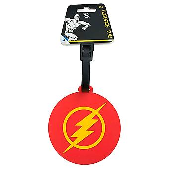The Flash Logo Luggage Tag