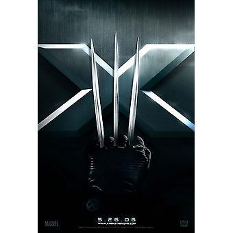X-الرجال 3 (تقدم من جانب واحد) (2006) ملصق السينما الأصلي
