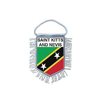 Flag Mini Flag Country Car Decoration Saint Kitts And Nevis