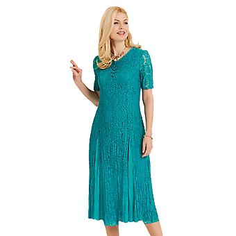 Amber Amber Ladies Lace and Chiffon Dress