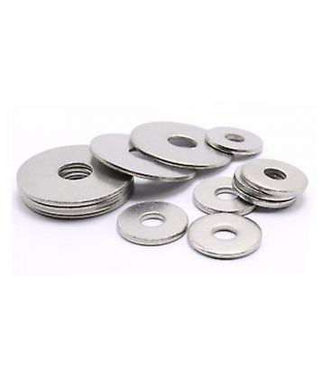 M6 A2 Stainless Steel Penny Repair Timber Mudguard Washer Din 9021