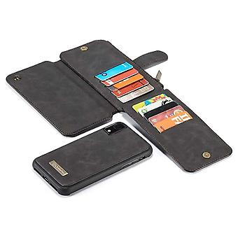 2 in 1 Zipper Wallet Cover for iPhone 11 Black