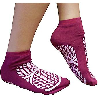 Aidapt anti slip sokken dubbelzijdig - Medium