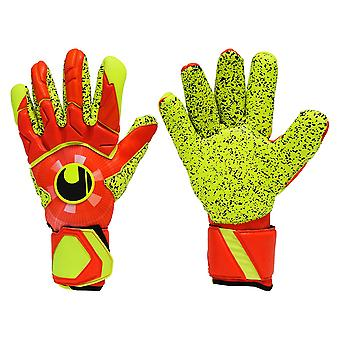 UHLSPORT DYNAMIC IMPULSE SUPERGRIP FINGER SURROUND Goalkeeper Gloves Size