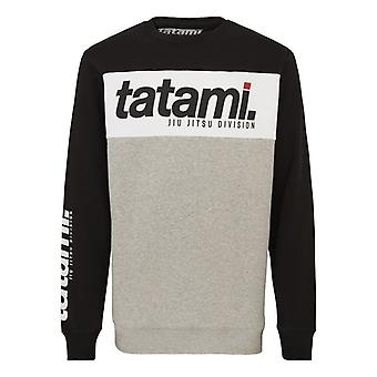 Tatami Fightwear base collectie zwart Tri-panel Sweatshirt