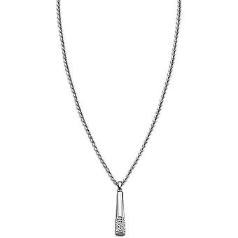 Necklace and pendant Rainbow LS1767-1-1 - necklace and pendant Crystal steel pendant woman