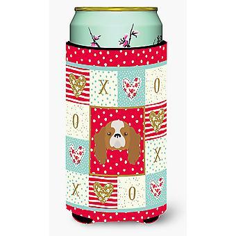 Blenheim Cavalier King Charles Spaniel Tall Boy Beverage Insulator Hugger