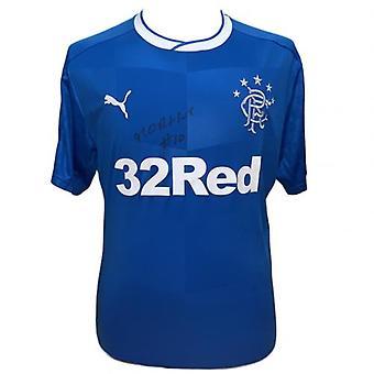 Rangers Morelos signiert Shirt