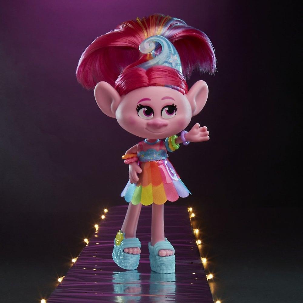 Troll s World Tour Glam Vallmo Deluxe Fashion Doll