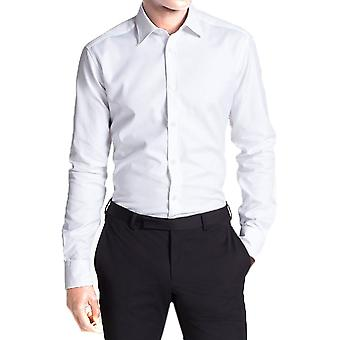 Fitted cut cotton shirt