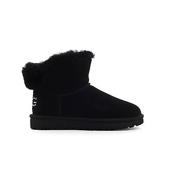 UGG CLASSIC BLING BLACK MINI BOOT
