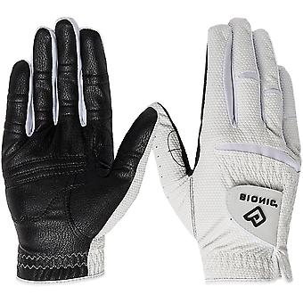 Bionic Men's Right Hand Relax Grip 2.0 Golf Glove - Black