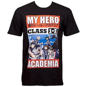 私のヒーローアカデミアクラス1A Tシャツ