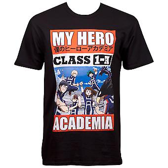 My Hero Academia Class 1A T-paita