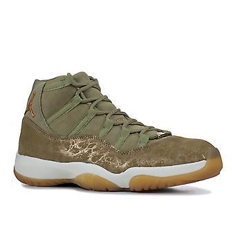 Air Jordan 11 Retros ' Olive Lux ' Womens-Ar0715-200-kengät