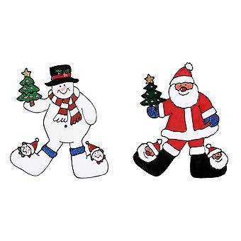 Christmas Shop Window Stickers
