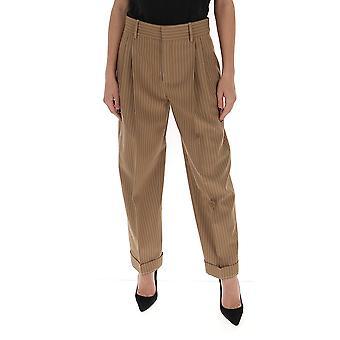 Chloé Chc20upa1806323u Women's Brown Cotton Pants