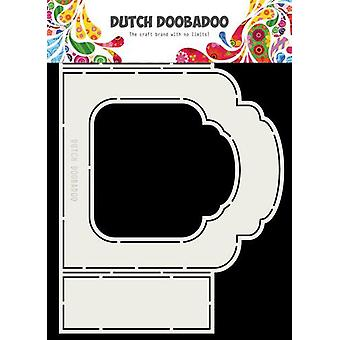 Niederländische Doobadoo niederländische Falten Karte Kunst Label Barock A5 470.713.331