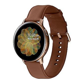 Samsung Smartwatch SM-R825FS Galaxy Active2 Steel LTE gold SM-R825FSDADBT