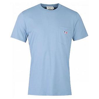Maison Kitsune Tricolour Fox Patch T-Shirt