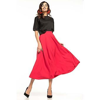 Red tessita skirts