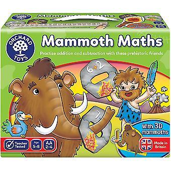Mammoth matematik spil