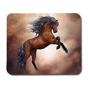 لوحة الماوس الحصان