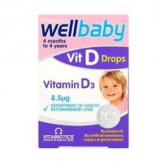 Vitabiotics - Wellbaby Vitamin D Drops 30ml