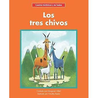 Los tres chivos by Margaret Hillert - 9781599539577 Book