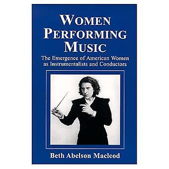 Women performing music