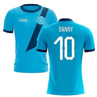2020-2021 Zenit Petrohrad Preč Koncepcia Futbalové tričko (Danny 10)