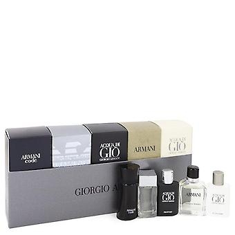 Acqua Di Gio Profumo presente conjunto por Giorgio Armani viagens conjunto inclui código de Armani, Emporio Armani Diamonds, Acqua Di Gio, Armani e Acqua Di Gio Profumo
