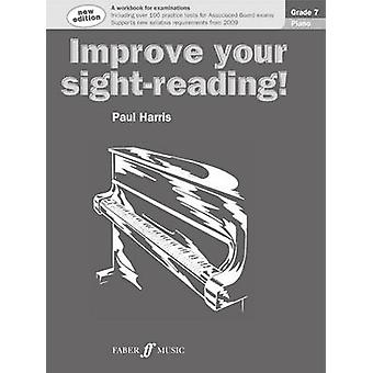 Improve your sightreading Piano Grade 7 by Paul Harris