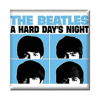 The Beatles Fridge Magnet Hard Days Night Film new Official 76mm x 76mm