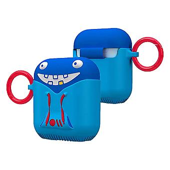 Case-Mate Airpods Case for Airpods 1 & 2 Shockproof Tricky- CreaturesPods, Blue