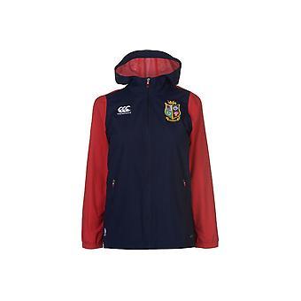 Canterbury britische und irische Löwen voller Reißverschluss Regen Jacke Damen