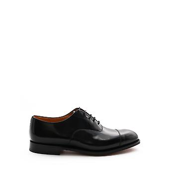 Church's Eeb0039xvf0aab Men's Black Leather Lace-up Shoes
